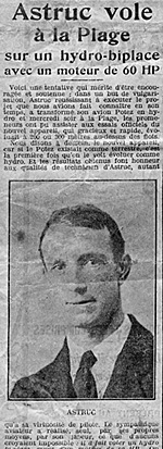 "From the diary ""Sports in Provence"" of May 13, 1922."